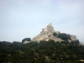 VIEW OF SAN SILVESTRO ROCK